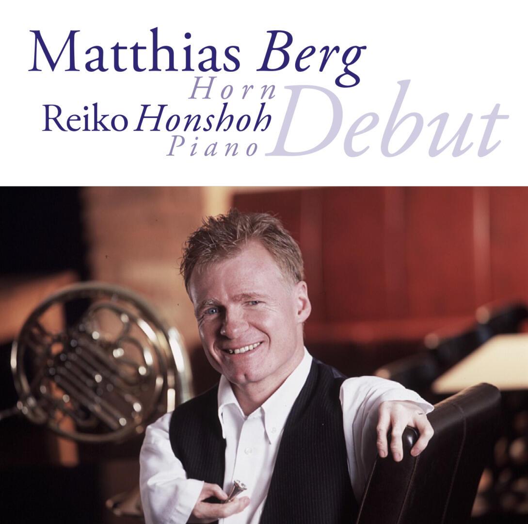 """Matthias Berg, Reiko Honshoh  – """"Debut"""""""